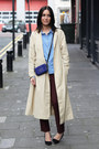 Camel-h-m-coat-blue-mulberry-bag-crimson-zara-pants-topshop-blouse