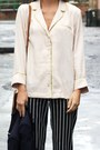 Navy-striped-river-island-pants-zara-blazer