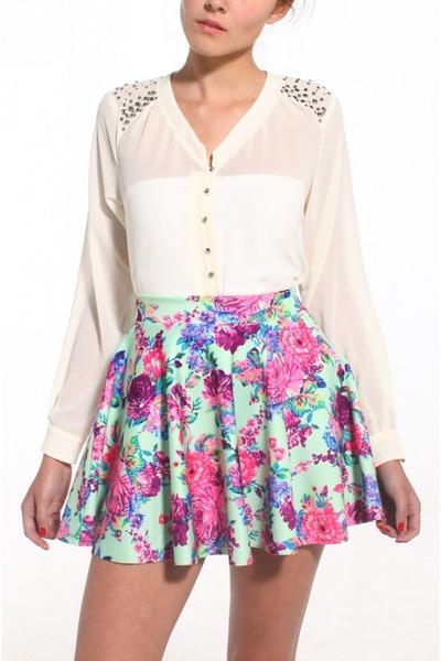 Akira shirt - Akira skirt