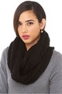 infinity knit AKIRA Black Label scarf