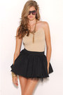 Black-akira-black-label-skirt-gold-akira-accessories