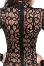 Silver-hunt-no-more-bodysuit-black-akira-skirt