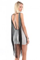 heather gray Akira dress - dark gray Akira dress