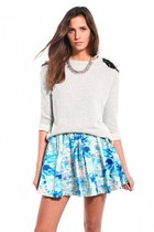 keepsake skirt - Akira sweater