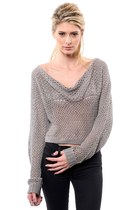 one grey day sweater