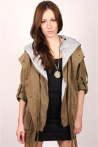 olive green ShopGoldiecom jacket