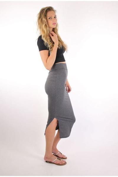 heather gray ShopGoldie skirt