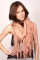 peach ShopGoldie scarf