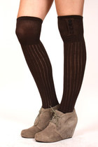 dark brown ShopGoldiecom stockings