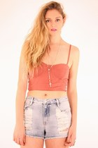 peach Mink Pink top