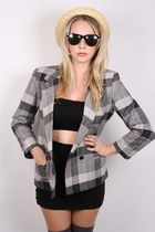 heather gray ShopGoldie blazer