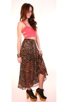 dark brown ShopGoldie skirt