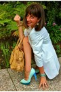 Turquoise-blue-nina-heels-cream-elizabeth-james-blazer