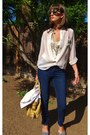 Navy-twiggy-james-jeans-jeans-cream-elizabeth-james-blazer
