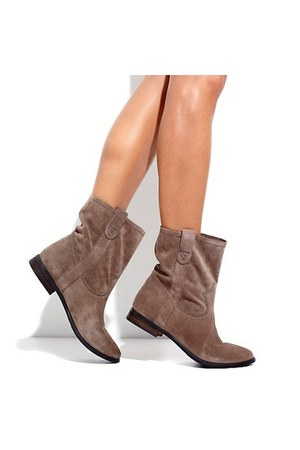 tan suede Vince Camuto boots