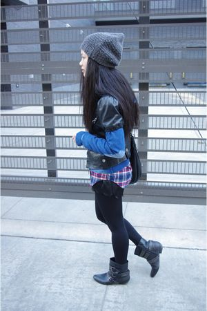 French Connection hat - Urban Outfitters boots - Rudsak jacket