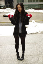 Jessica Simpson shoes - Urban Outfitters shirt - Club Monaco tights