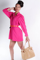 hot pink vintage jumper