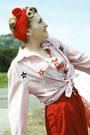 Candy-stripes-vintage-shirt-red-vintage-pants