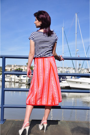 candy stripes vintage skirt