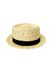 yellow BDG hat