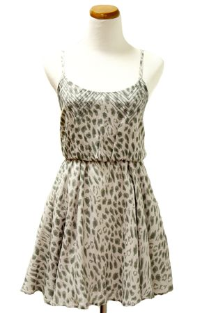 gray lucca couture dress