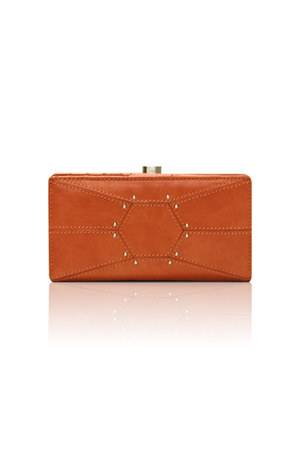 carrot orange botkier wallet