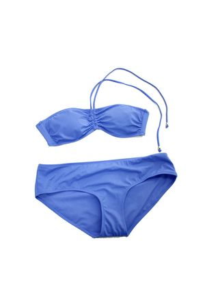 blue H&M swimwear