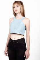 SHOP BUDAPEST | QUILTED CROP TOP