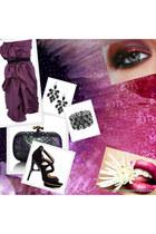 lanvin dress - Bottega Venetta bag - Forever 21 bracelet - Forever 21 earrings