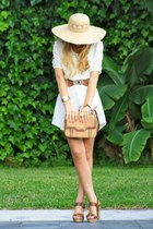 Zara dress - Zara bag - Bershka sandals