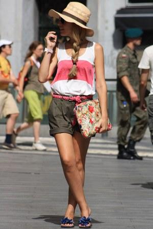 Parfois bag - Primark top - Pilar Burgos sandals