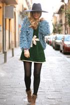 kling cardigan - kling dress - Zara hat