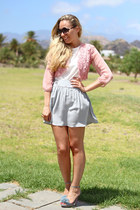 Plural collection cardigan - Nina & Co sandals - NINA & CO skirt