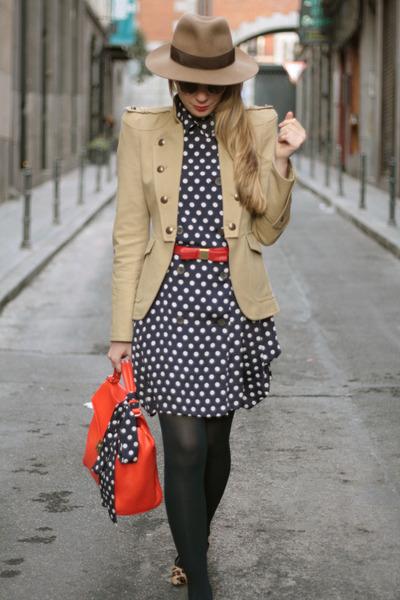 Zara jacket - Queens Wardrobe dress