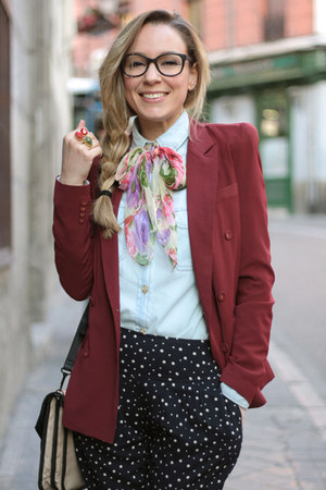 Queens Wardrobe blazer - romwe shirt - Friss &amp; Company bag - Primark pants