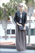 Zara skirt - H&M jacket - BLANCO bag
