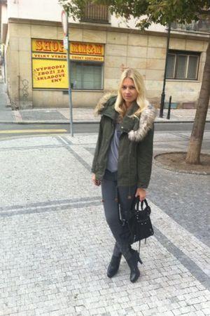 Zara jacket - whyred jeans - whyred shoes - balenciaga bag - Filippa K top