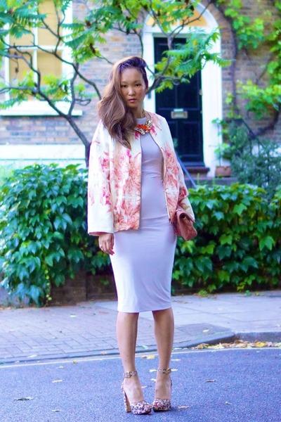 Caslazur jacket - Missguided dress - Chanel bag - Miu Miu sandals