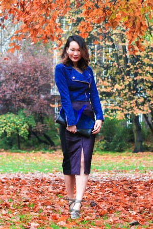 ted baker jacket - ted baker skirt