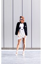 MinkPink dress - dune shoes - The Kooples jacket