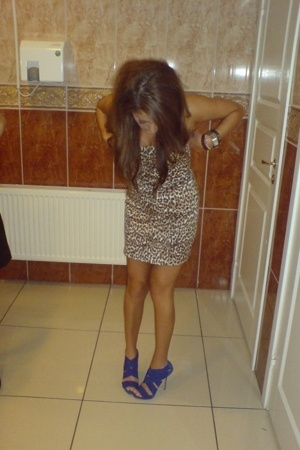 Zara shoes - GINA TRICOT dress