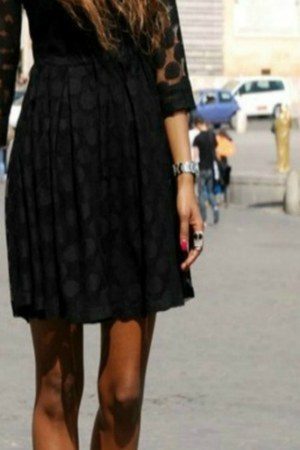 Kandee heels - H&M dress - vintage sunglasses