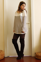 sweater - jeans - boots