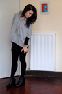 Gray-mango-sweater-black-h-m-skirt-black-aldo-shoes-black-primark-tights