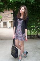 f21 dress - Urban Outfitters shoes - TJ Maxxx purse