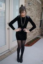 UrbanOG boots - f21 dress