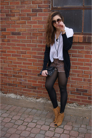 Forever 21 blouse - Claires sunglasses - Bamboo wedges