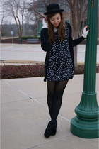 UrbanOG dress - Forever 21 hat - UrbanOG wedges - Charming Charlie gloves