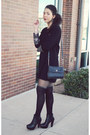 Vintage-dress-missguided-tights